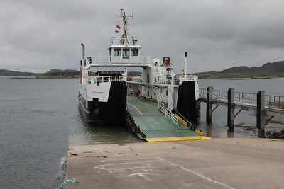 MV Loch Alainn at Barra 10 July 2011