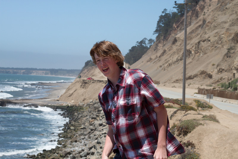 Alex on coast near highway 1