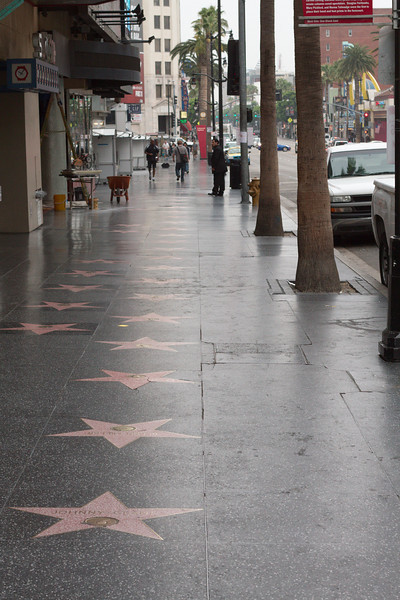 Walk of fame, early AM
