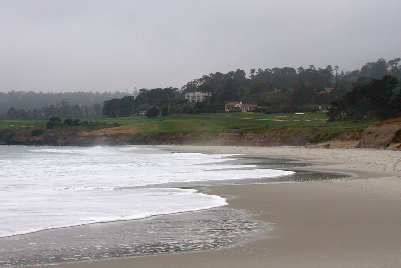 Pebble beach golf course near Carmel