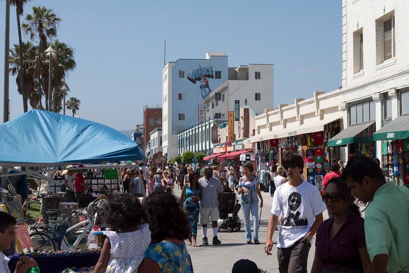 At Venice Beach