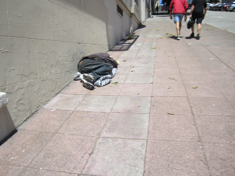 This was a very common sight in SF