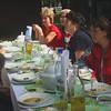 Masa de pranz in cadrul Rezervatiei naturale pentru protejarea ghimpelui albastru,lacramioarelor si bujorului romanesc din Comana.