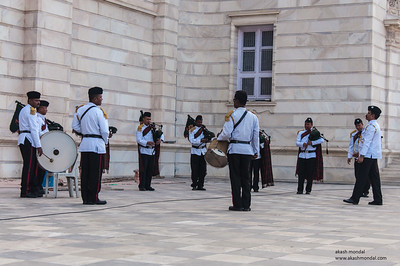 Music Band at Victoria Memorial