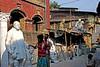 A street in Kumartuli