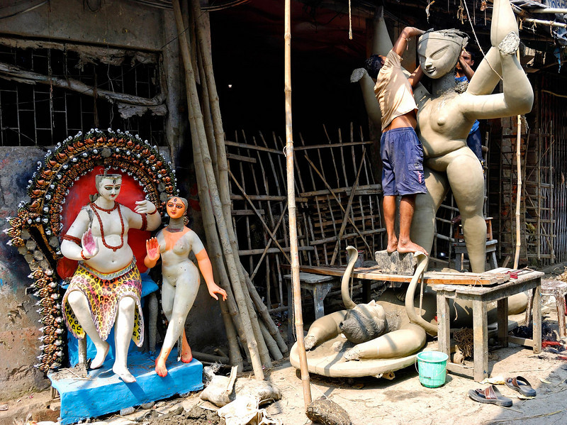 Idol makers, Kumartuli