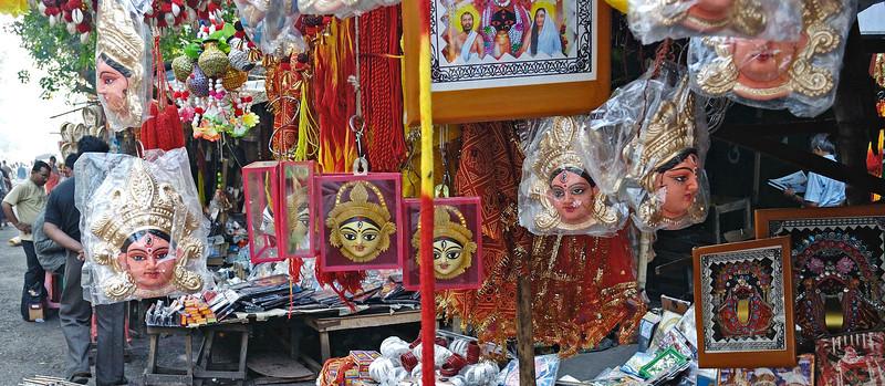 Outside the Kali Temple