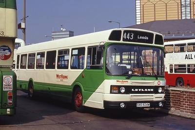 West Riding 146 Leeds Central Bus Stn Sep 91