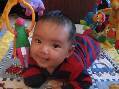 Caleb 3 Months