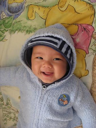 Caleb 4 Months