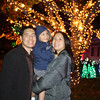 checking out the neighborhood holiday lights