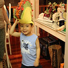 Caleb's taco hat from uncle victor