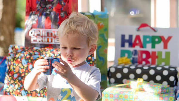 Arthur's 2nd Birthday Party