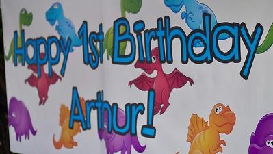 Arthur's First Birthday