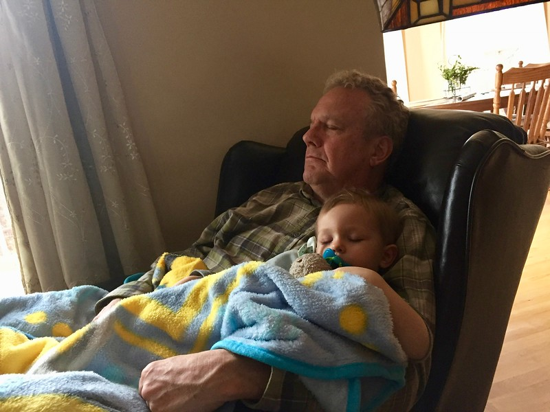 Naptime with Grandpa