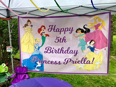Priella is 5