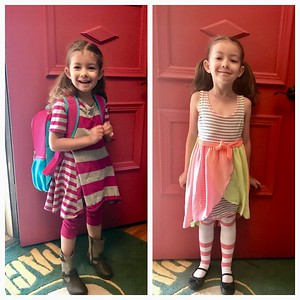 First and Last Day of Pre-school