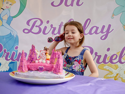 Priella's 5th Birthday Party