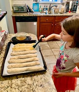 Making Breadsticks