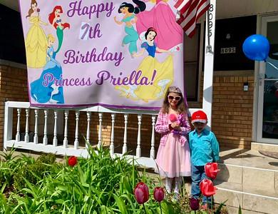 Princess Priella 7th Birthday