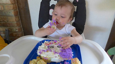 Celebrating Priella's First Birthday