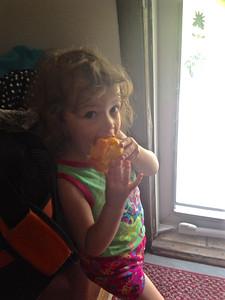 Peach Snack