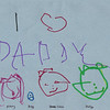 Daddy's Bday card front (made at home)