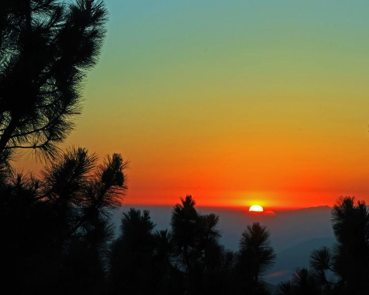 Sunset, Inspiration Point