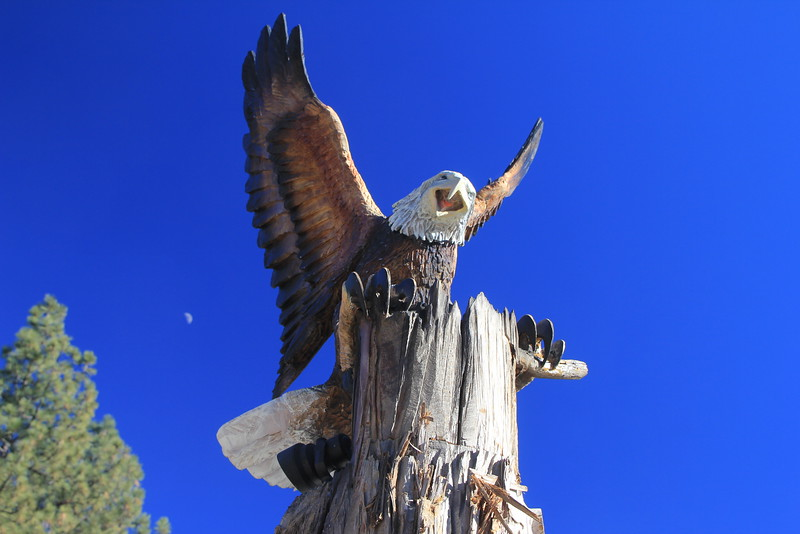 Idyllwild Monument, detail