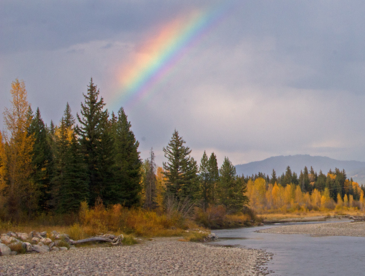 Grand Tetons Rainbow