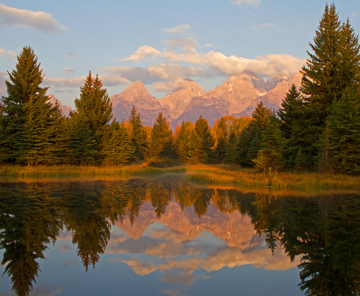 Grand Tetons at Sunrise