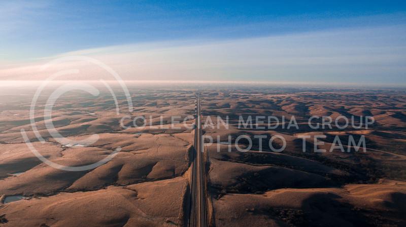 Logan Wassal - Early morning flint hills