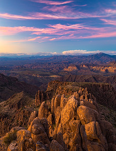 View from Superstition Peak 5057
