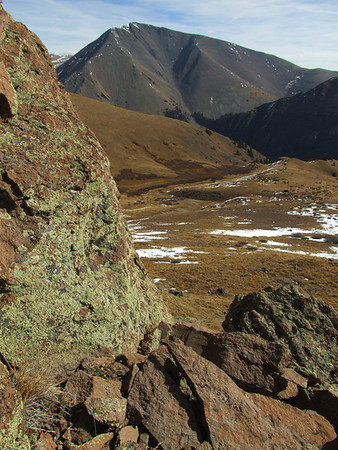 San Luis Peak from the Bondholder Trail
