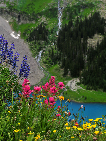 Blue Lakes Grandeur
