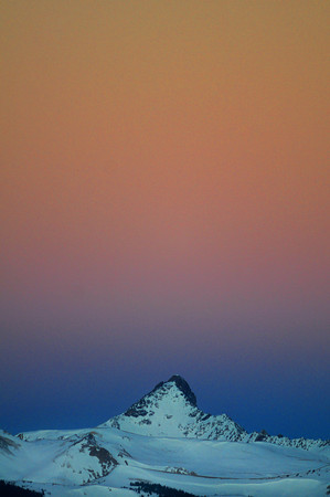 Wetterhorn Peak at Dawn
