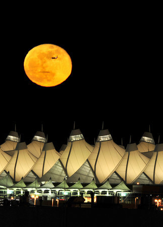 Moonrise over DIA