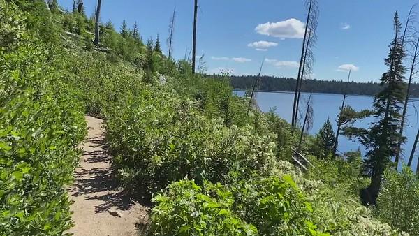 Grand Teton hike around Jenny Lake Loop
