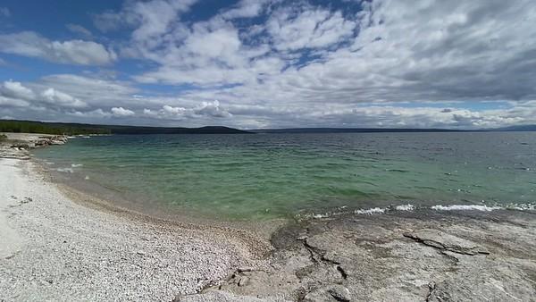 Yellowstone Lake and Big Cone