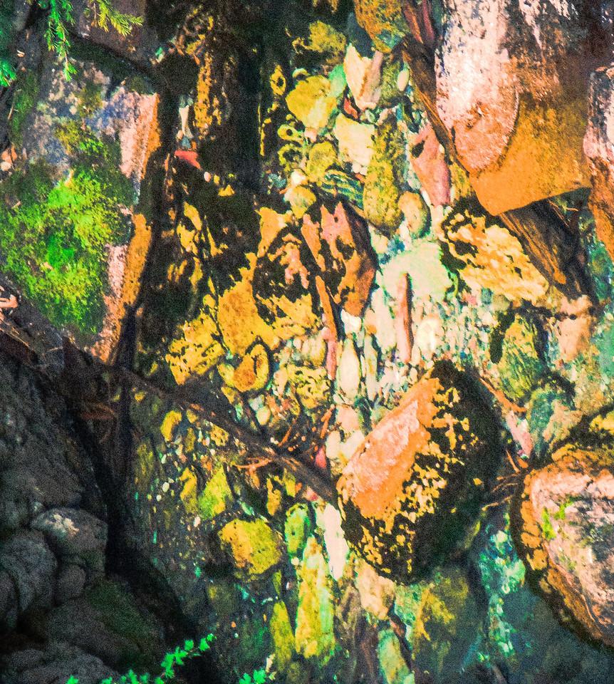 rocks in water-Edit