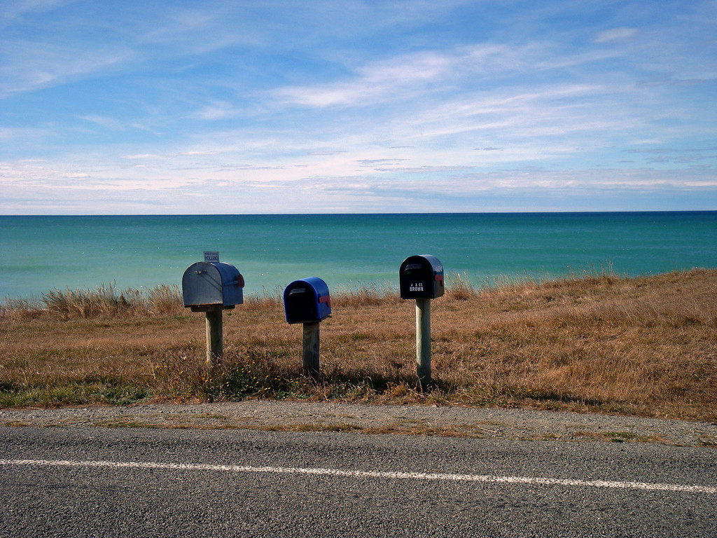 SEND ME A CARD FROM OMARU, NEW ZEALAND