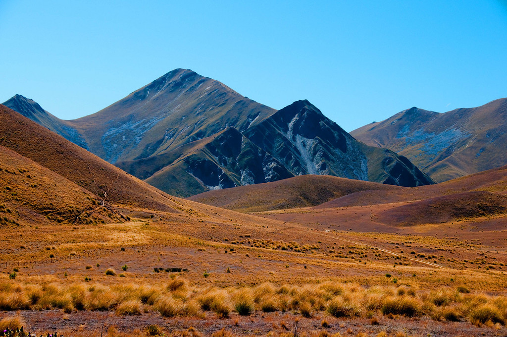 NEW ZEALAND DESERT, WANAKA REGION, SOUTH ISLAND
