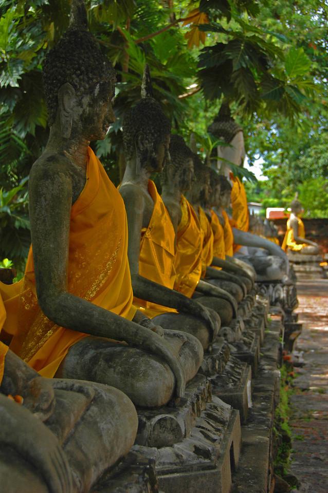 TWELVE BHUDDAS IN THAILAND