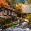 The Cedar Creek Grist Mill - Stumbled across this lovely place by chance. Did not realize it was such a prominent landmark. Located just couple of miles from woodland, WA – this mill still holds the original structural integrity, grinds with stones even today and is water powered. Being a little more than a century old, the place is definitely rustic. The stream of water, the covered bridge and the colors of the fall season definitely adds to the splendid scenery. If you are around here is the pacific north west, now is the best time to visit the place, as the fall colors are at peak. If not, you can always enjoy the same thru my shots !