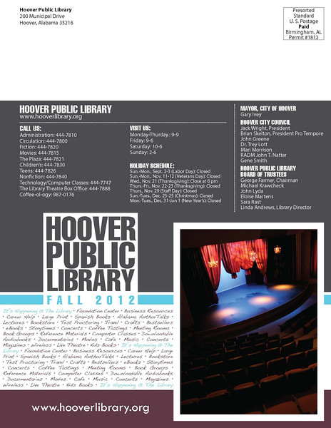 Fall 2012, page 1