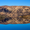 Loch Reflection - blue skye and I like it