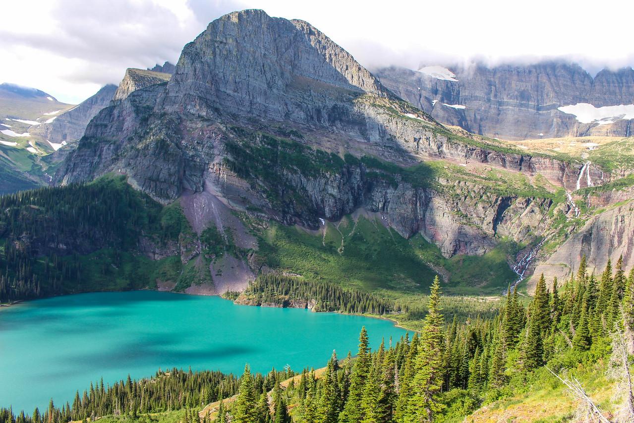 Grinnel Lake Glacier MT