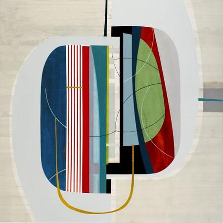 Blue AfternoonALT-Hibberd, 50x50