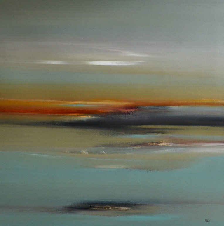 Calm Scene III-Ridgers, 40x40 on canvas JPG