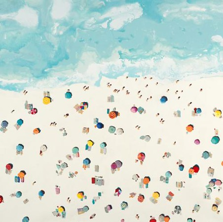 Beach Days-Hibberd, 40x40